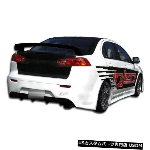 Rear Bumper 08-17三菱ランサーGTコンセプトデュラフレックスリアボディキットバンパー!!! 103944 08-17 Mitsubishi Lancer GT Concept Duraflex Rear Body Kit Bumper!!! 103944
