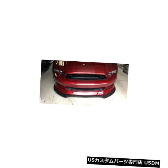 Front Bumper 05-14フォードマスタングトゥルーカーボンファイバータイプ1フロントバンパーリップボディキット! TC010-LG99 05-14 Ford Mustang Tru-Carbon Fiber Type 1 Front Bumper Lip Body Kit! TC010-LG99