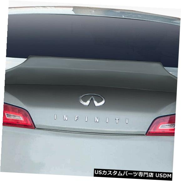 Body Kit-Wing/Spoiler 03-07 Infiniti G Coupe Visceral Duraflex Body Kit-Wing / Spoilに適合 er !!! 114311 03-07 Fits Infiniti G Coupe Visceral Duraflex Body Kit-Wing/Spoiler!!! 114311