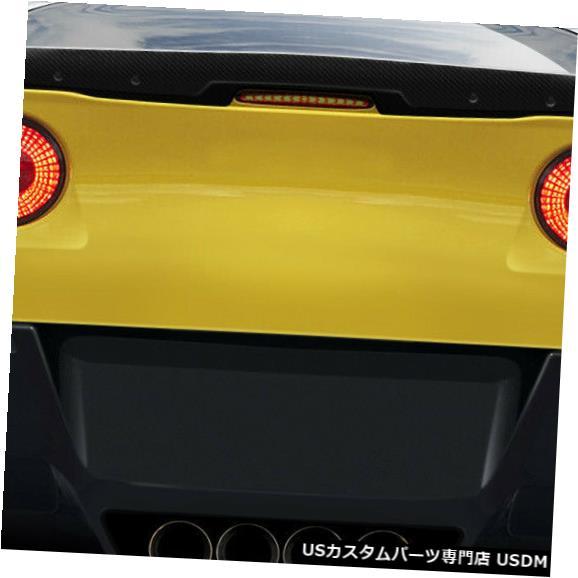 Body Kit-Wing/Spoiler 05-13シボレーコルベットスティングレイZカーボンファイバーボディキット-ウィング/スポイル er !!! 109920 05-13 Chevrolet Corvette Stingray Z Carbon Fiber Body Kit-Wing/Spoiler!!! 109920