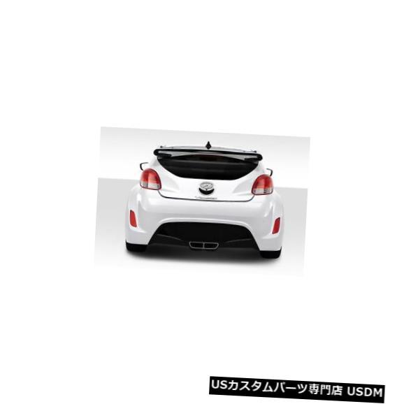 Body Kit-Wing/Spoiler 12-17ヒュンダイベロスターシーケンシャルデュラフレックスボディキットに適合-ウィング/スポイル er !!! 114308 12-17 Fits Hyundai Veloster Sequential Duraflex Body Kit-Wing/Spoiler!!! 114308