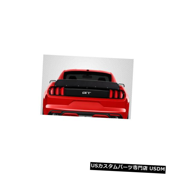 Body Kit-Wing/Spoiler 15-20 Ford Mustang Duckbill Carbon Fiber Creations Body Kit-Wing / Spoil er! 115534 15-20 Ford Mustang Duckbill Carbon Fiber Creations Body Kit-Wing/Spoiler! 115534