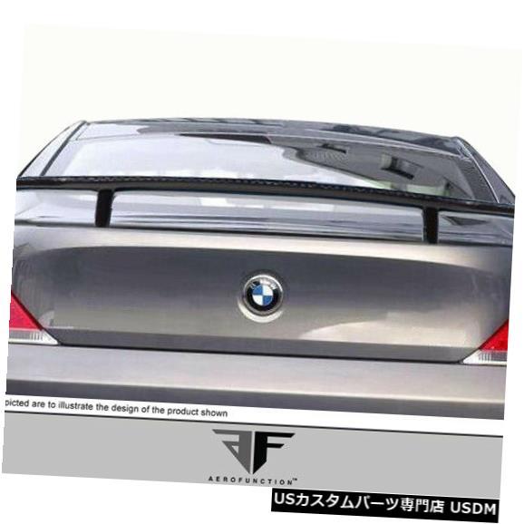 Body Kit-Wing/Spoiler 04-10 BMW 6シリーズAF-2エアロ機能CFPボディキットウィング/スポイラー109270 04-10 BMW 6 Series AF-2 Aero Function CFP Body Kit Wing/Spoiler 109270