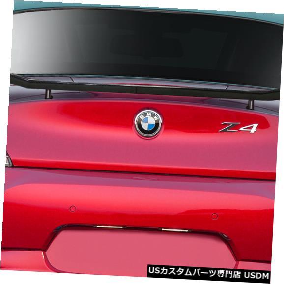 Body Kit-Wing/Spoiler 09-16 BMW Z4 TKRカーボンファイバークリエーションズボディキット-ウィング/スポイル er !!! 113521 09-16 BMW Z4 TKR Carbon Fiber Creations Body Kit-Wing/Spoiler!!! 113521