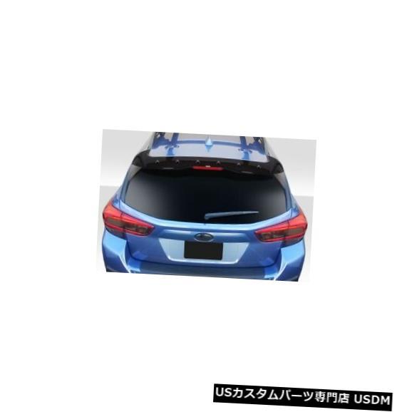Body Kit-Wing/Spoiler 18-20スバルクロストレックSTIルックデュラフレックスボディキットに適合-ウィング/スポイル er !!! 115510 18-20 Fits Subaru Crosstrek STI Look Duraflex Body Kit-Wing/Spoiler!!! 115510