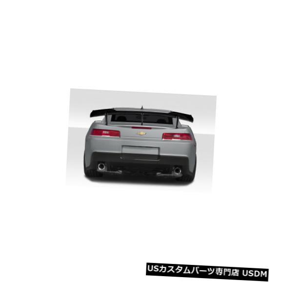 Body Kit-Wing/Spoiler 14-15シボレーカマロZL1ルックデュラフレックスボディキット-ウィング/スポイル er !!! 115078 14-15 Chevrolet Camaro ZL1 Look Duraflex Body Kit-Wing/Spoiler!!! 115078