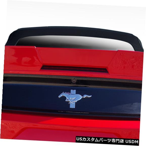 Body Kit-Wing/Spoiler 15-18フォードマスタングコンバーチブルグリッドDuraflexボディキット-ウィング/スポイル er !!! 112637 15-18 Ford Mustang Convertible Grid Duraflex Body Kit-Wing/Spoiler!!! 112637