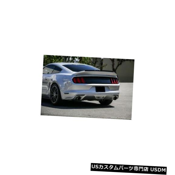 Body Kit-Wing/Spoiler 15-19フォードマスタングTruFiberダックテールボディキット-ウィング/スポイル er !!! TF10026-DCA57 15-19 Ford Mustang TruFiber Duck Tail Body Kit-Wing/Spoiler!!! TF10026-DCA57