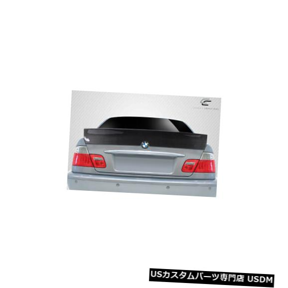 Body Kit-Wing/Spoiler 99-05 BMW 3シリーズ4DR RBSカーボンファイバークリエーションボディキット-ウィング/スポイル er !! 115516 99-05 BMW 3 Series 4DR RBS Carbon Fiber Creations Body Kit-Wing/Spoiler!! 115516