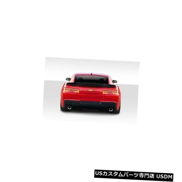 Body Kit-Wing/Spoiler 14-15シボレーカマロZ28ルックデュラフレックスボディキット-ウィング/スポイル er !!! 109814 14-15 Chevrolet Camaro Z28 Look Duraflex Body Kit-Wing/Spoiler!!! 109814