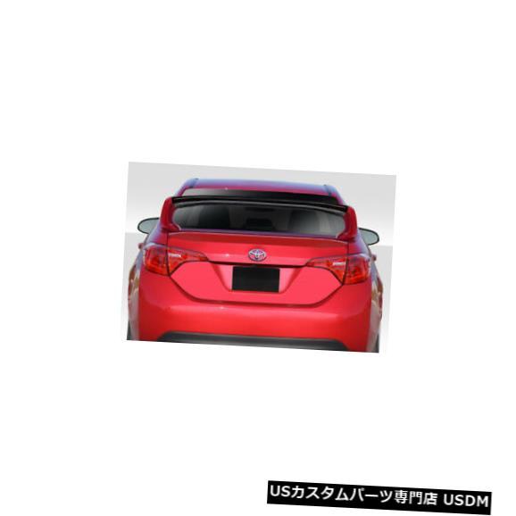 Body Kit-Wing/Spoiler 14-18トヨタカローラタイプMデュラフレックスボディキット-ウィング/スポイル er !!! 115375 14-18 Toyota Corolla Type M Duraflex Body Kit-Wing/Spoiler!!! 115375