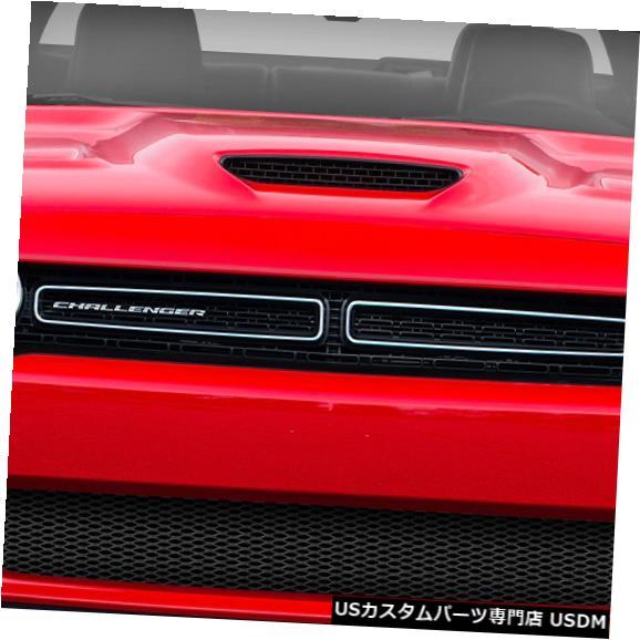 Spoiler 08-18ダッジチャレンジャーヘルキャットルックデュラフレックスフロントバンパーリップボディキット!!! 113985 08-18 Dodge Challenger Hellcat Look Duraflex Front Bumper Lip Body Kit!!! 113985