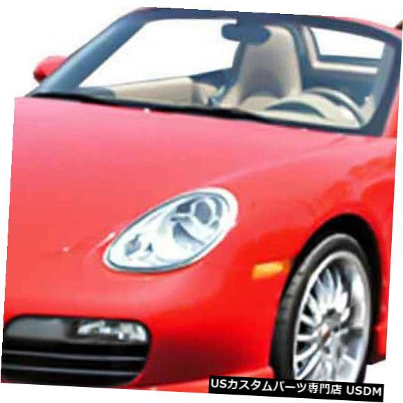 Spoiler 05-07ポルシェボクスタープレミアKBDウレタンフロントボディキットバンパーリップ!!! 37-5011 05-07 Porsche Boxster Premier KBD Urethane Front Body Kit Bumper Lip!!! 37-5011