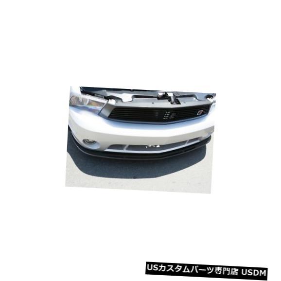 Spoiler 10-14フォードマスタングカーボンファイバーLG102フロントバンパーリップボディキット!!! TC10025-LG102 10-14 Ford Mustang Carbon Fiber LG102 Front Bumper Lip Body Kit!!! TC10025-LG102
