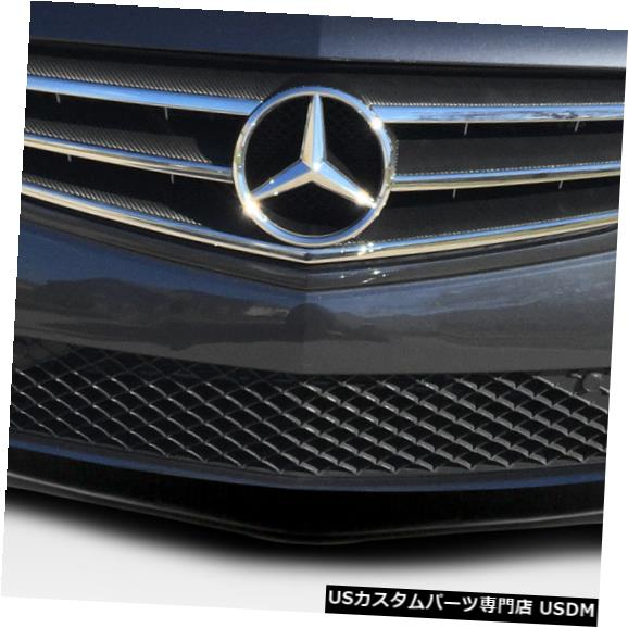 Spoiler 12-13メルセデスCクラスLスポーツデュラフレックスフロントバンパーリップボディキット!!! 112746 12-13 Mercedes C Class L Sport Duraflex Front Bumper Lip Body Kit!!! 112746