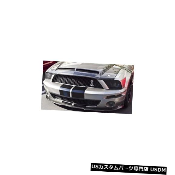 Spoiler 05-09マスタングGT500カーボンファイバーKRフロントバンパーリップボディキット!!! TC10024-LG104K R 05-09 Mustang GT500 Carbon Fiber KR Front Bumper Lip Body Kit!!! TC10024-LG104KR