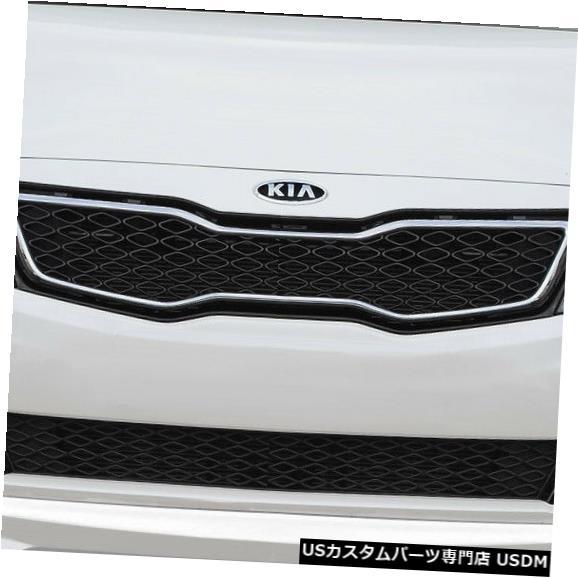 Spoiler 10-13 Kia Optima N Design Duraflexフロントバンパーリップボディキットに適合!!! 113908 10-13 Fits Kia Optima N Design Duraflex Front Bumper Lip Body Kit!!! 113908