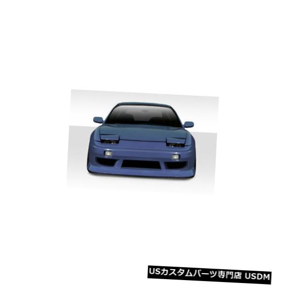 Spoiler 89-94は日産240SX BスポーツDuraflexワイドフロントボディキットバンパーに適合!!! 114750 89-94 Fits Nissan 240SX B-Sport Duraflex Wide Front Body Kit Bumper!!! 114750