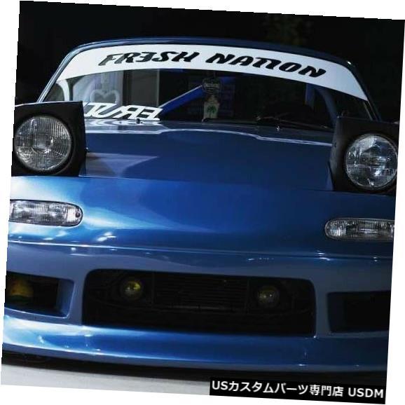 Spoiler 90-97マツダミアータデューススタイルKBDウレタンフロントボディキットバンパー!!! 37-6070 90-97 Mazda Miata Deuce Style KBD Urethane Front Body Kit Bumper!!! 37-6070
