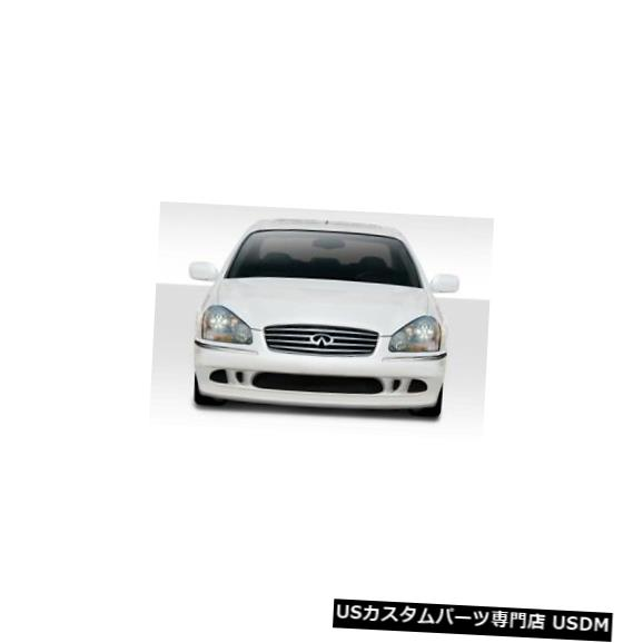 Spoiler 02-04インフィニティQ45 Jデザインデュラフレックスフロントボディキットバンパーに適合!!! 114795 02-04 Fits Infiniti Q45 J Design Duraflex Front Body Kit Bumper!!! 114795