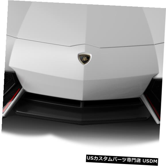 Spoiler 11-17ランボルギーニアヴェンタドールAF-1エアロファンクションフロントバンパーリップボディキット! 113747 11-17 Lamborghini Aventador AF-1 Aero Function Front Bumper Lip Body Kit! 113747