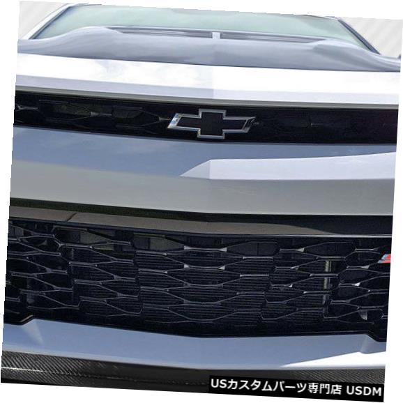 Spoiler 16-18シボレーカマロGM-Xカーボンファイバークリエーションズフロントバンパーリップボディキット!!! 16-18 Chevrolet Camaro GM-X Carbon Fiber Creations Front Bumper Lip Body Kit!!!