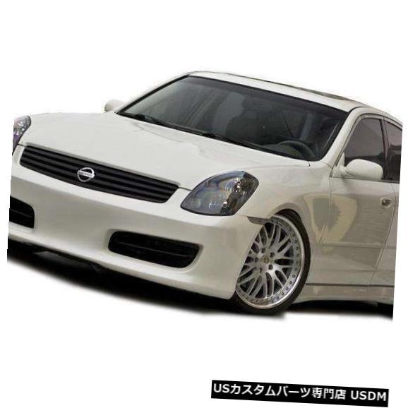 Spoiler 03-04インフィニティG35セダンヒドリKBDウレタンフロントボディキットバンパーに適合! 37-2251 03-04 Fits Infiniti G35 Sedan Hidori KBD Urethane Front Body Kit Bumper! 37-2251