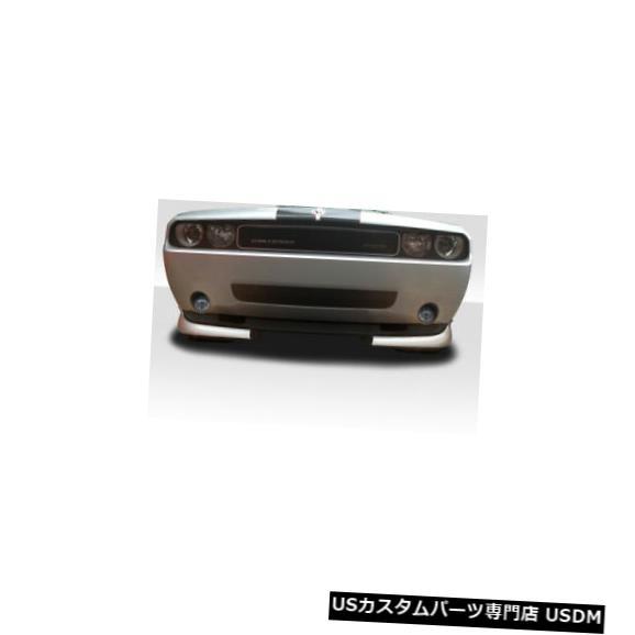 Spoiler 08-20ダッジチャレンジャーCVXデュラフレックスフロントバンパーリップボディキット!!! 115356 08-20 Dodge Challenger CVX Duraflex Front Bumper Lip Body Kit!!! 115356