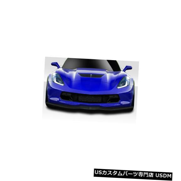 Spoiler 14-19シボレーコルベットGMX Duraflexフロントバンパーリップボディキット!!! 114612 14-19 Chevrolet Corvette GMX Duraflex Front Bumper Lip Body Kit!!! 114612