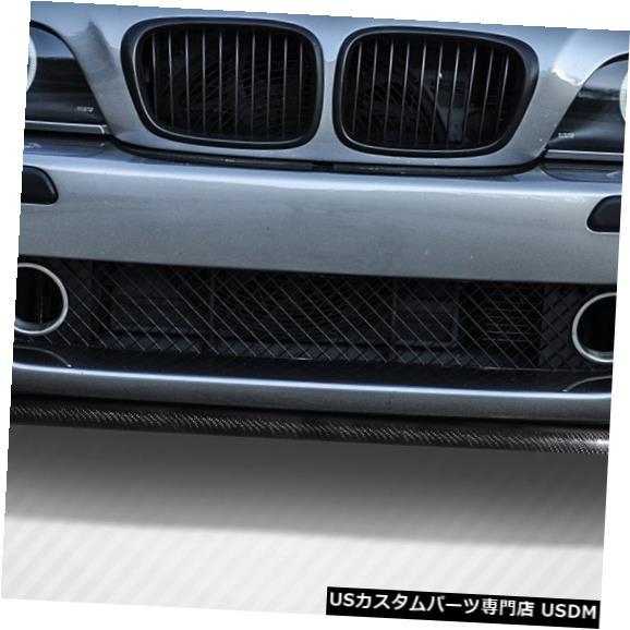 Spoiler 97-03 BMW M5 HMSカーボンファイバークリエーションズフロントバンパーリップボディキット!!! 113390 97-03 BMW M5 HMS Carbon Fiber Creations Front Bumper Lip Body Kit!!! 113390
