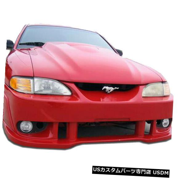 Spoiler 94-98フォードマスタングスパイ2スタイルKBDウレタンフロントボディキットバンパー!!! 37-2219 94-98 Ford Mustang Spy 2 Style KBD Urethane Front Body Kit Bumper!!! 37-2219