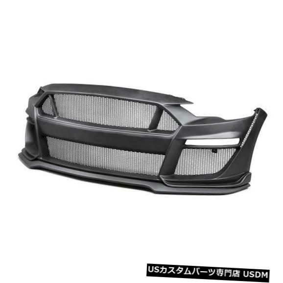 Spoiler 18-19マスタングタイプSTアンダーソンガラスフロントボディキットバンパー!!! AC-FB18FDMU-ST -GF 18-19 Mustang Type-ST Anderson Glass Front Body Kit Bumper!!! AC-FB18FDMU-ST-GF