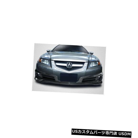Spoiler 07-08アキュラTLタイプSカーボンファイバークリエーションズフロントバンパーリップボディキット!!! 115427 07-08 Acura TL Type S Carbon Fiber Creations Front Bumper Lip Body Kit!!! 115427