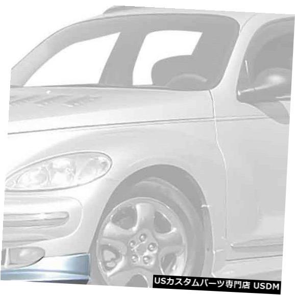 Spoiler 01-05クライスラーPTクルーザーボムKBDウレタンフロントボディキットバンパーリップ!!! 37-2185 01-05 Chrysler PT Cruiser Bomb KBD Urethane Front Body Kit Bumper Lip!!! 37-2185
