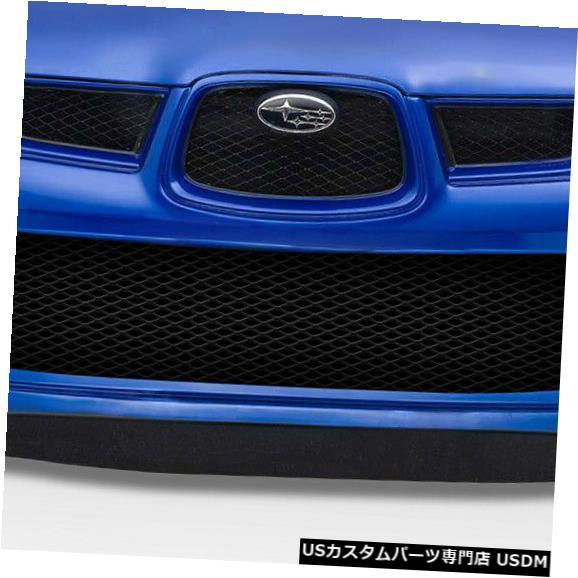 Spoiler 06-07スバルインプレッサWRCルックDuraflexフロントボディキットバンパーに適合!!! 114945 06-07 Fits Subaru Impreza WRC Look Duraflex Front Body Kit Bumper!!! 114945