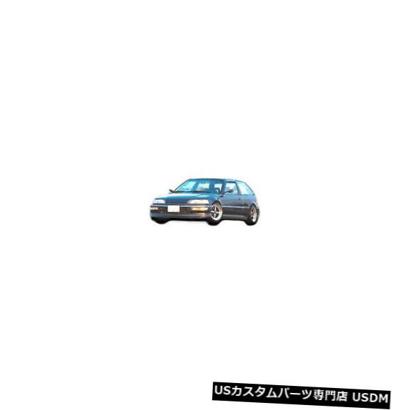 Spoiler 88-91ホンダシビックHBサースペックKBDウレタンフロントボディキットバンパーリップ!! 37-2161 88-91 Honda Civic HB Sir-Spec KBD Urethane Front Body Kit Bumper Lip!! 37-2161