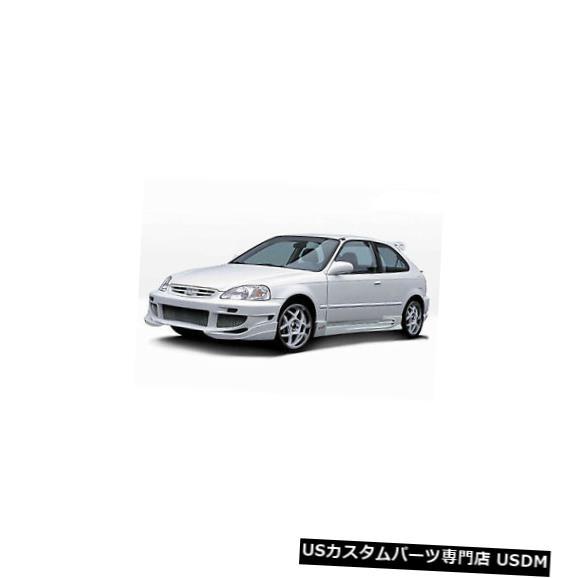 Spoiler 88-91ホンダシビックHBヴァダールスタイルKBDウレタンフロントボディキットバンパー!!! 37-2083 88-91 Honda Civic HB Vadar Style KBD Urethane Front Body Kit Bumper!!! 37-2083