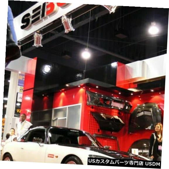 Spoiler 00-03 S2000 TV SeibonカーボンファイバーフロントバンパーリップボディキットFL0003HDS2K-TV 00-03 S2000 TV Seibon Carbon Fiber Front Bumper Lip Body Kit FL0003HDS2K-TV