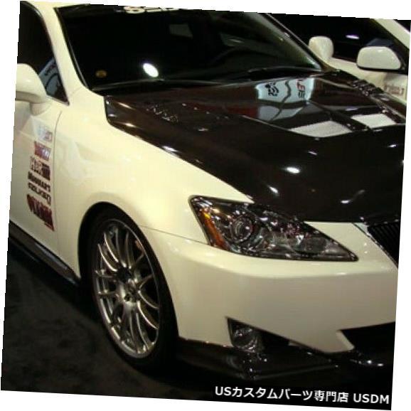 Spoiler 06-08レクサスIS TSセイボンカーボンファイバーフロントバンパーリップボディキット!!! FL0607LXIS-TS 06-08 Lexus IS TS Seibon Carbon Fiber Front Bumper Lip Body Kit!!! FL0607LXIS-TS