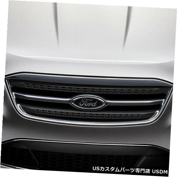 Spoiler 10-12フォードトーラスレーサーデュラフレックスフロントバンパーリップボディキット!!! 107625 10-12 Ford Taurus Racer Duraflex Front Bumper Lip Body Kit!!! 107625