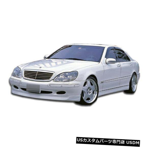 Spoiler 00-02メルセデスSクラスBR-Sデュラフレックスフロントバンパーリップボディキット!!! 102319 00-02 Mercedes S Class BR-S Duraflex Front Bumper Lip Body Kit!!! 102319