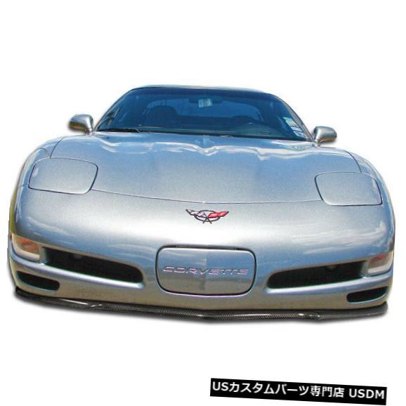 Spoiler 97-04シボレーコルベットC5Rカーボンファイバーフロントバンパーリップボディキット!!! 106146 97-04 Chevrolet Corvette C5R Carbon Fiber Front Bumper Lip Body Kit!!! 106146