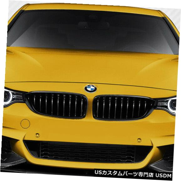 Spoiler 14-18 BMW 4シリーズM Perf DriTechカーボンファイバーフロントバンパーリップボディキット! 113148 14-18 BMW 4 Series M Perf DriTech Carbon Fiber Front Bumper Lip Body Kit! 113148
