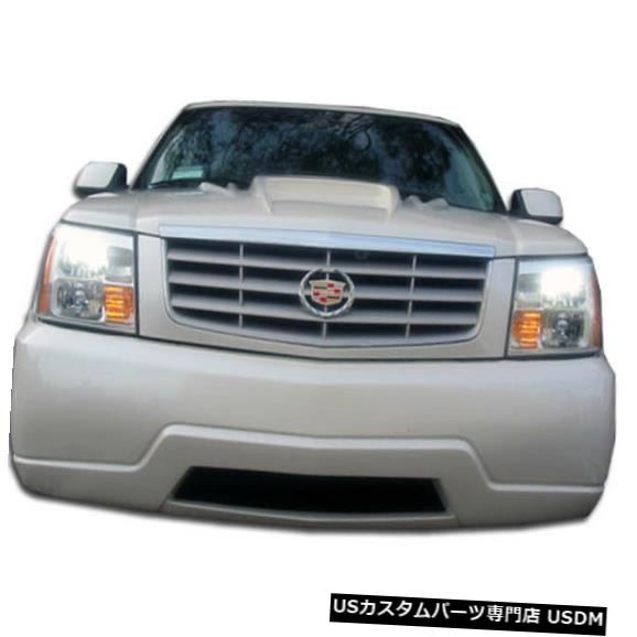 Spoiler 02-06キャデラックエスカレードプラチナム2 Duraflexフロントボディキットバンパー!!! 100327 02-06 Cadillac Escalade Platinum 2 Duraflex Front Body Kit Bumper!!! 100327
