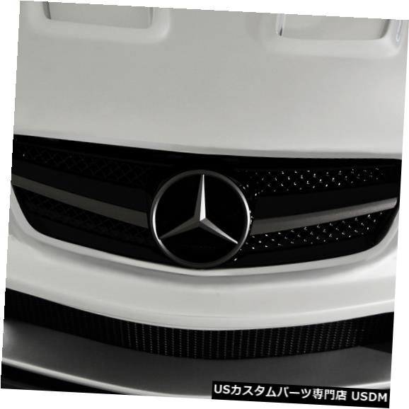 Spoiler 03-12メルセデスSL AF-1シリーズエアロ機能フロントバンパーリップボディキット!!! 108020 03-12 Mercedes SL AF-1 Series Aero Function Front Bumper Lip Body Kit!!! 108020