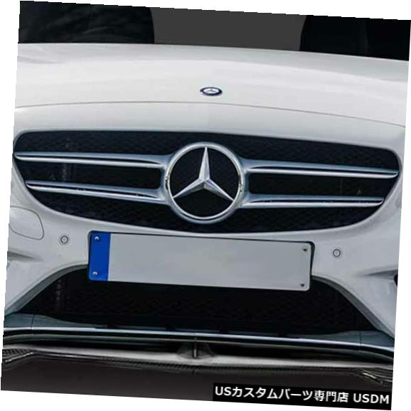Spoiler 15-18メルセデスCクラスフォーチュンカーボンファイバーフロントバンパーリップボディキット!!! 114375 15-18 Mercedes C Class Fortune Carbon Fiber Front Bumper Lip Body Kit!!! 114375