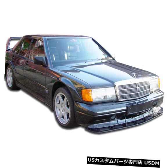 Spoiler 84-93メルセデス190 EVO 2 Duraflexフロントワイドボディキットバンパー!!! 105369 84-93 Mercedes 190 EVO 2 Duraflex Front Wide Body Kit Bumper!!! 105369