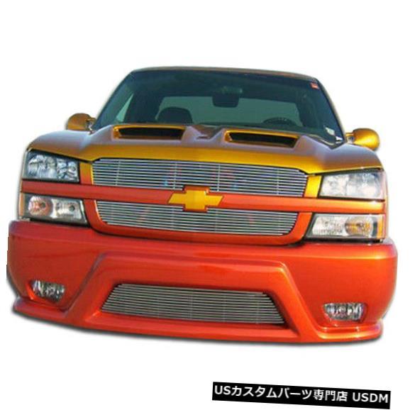 Spoiler 03-06シボレーシルバラードプラチナDuraflexフロントボディキットバンパー!!! 103002 03-06 Chevrolet Silverado Platinum Duraflex Front Body Kit Bumper!!! 103002