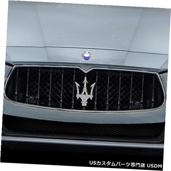 Spoiler 14-17マセラティジブリAzure Duraflexフロントバンパーリップボディキット!!! 113963 14-17 Maserati Ghibli Azure Duraflex Front Bumper Lip Body Kit!!! 113963