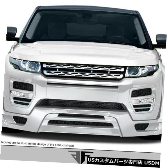 Spoiler 12-15ランドローバーイヴォークAF-1エアロ機能フロントバンパーアドオンボディキット108733 12-15 Land Rover Evoque AF-1 Aero Function Front Bumper Add On Body Kit 108733